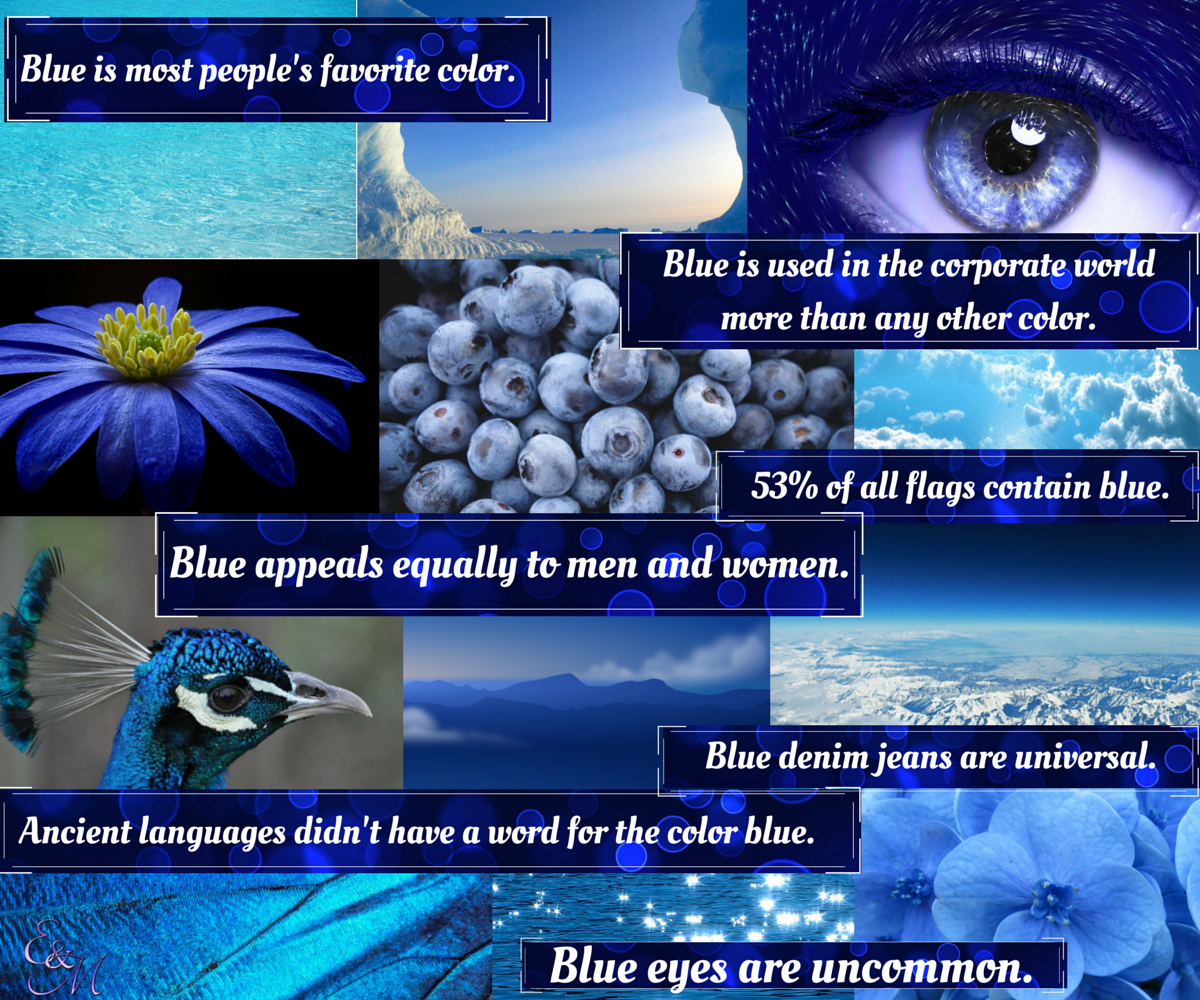 Shades of blue earth and moon design for What are the shades of blue